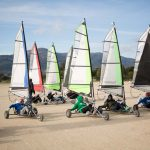 Land sailing in Tarifa