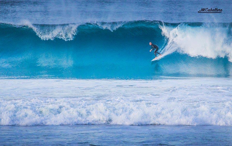 Surfing in Tarifa